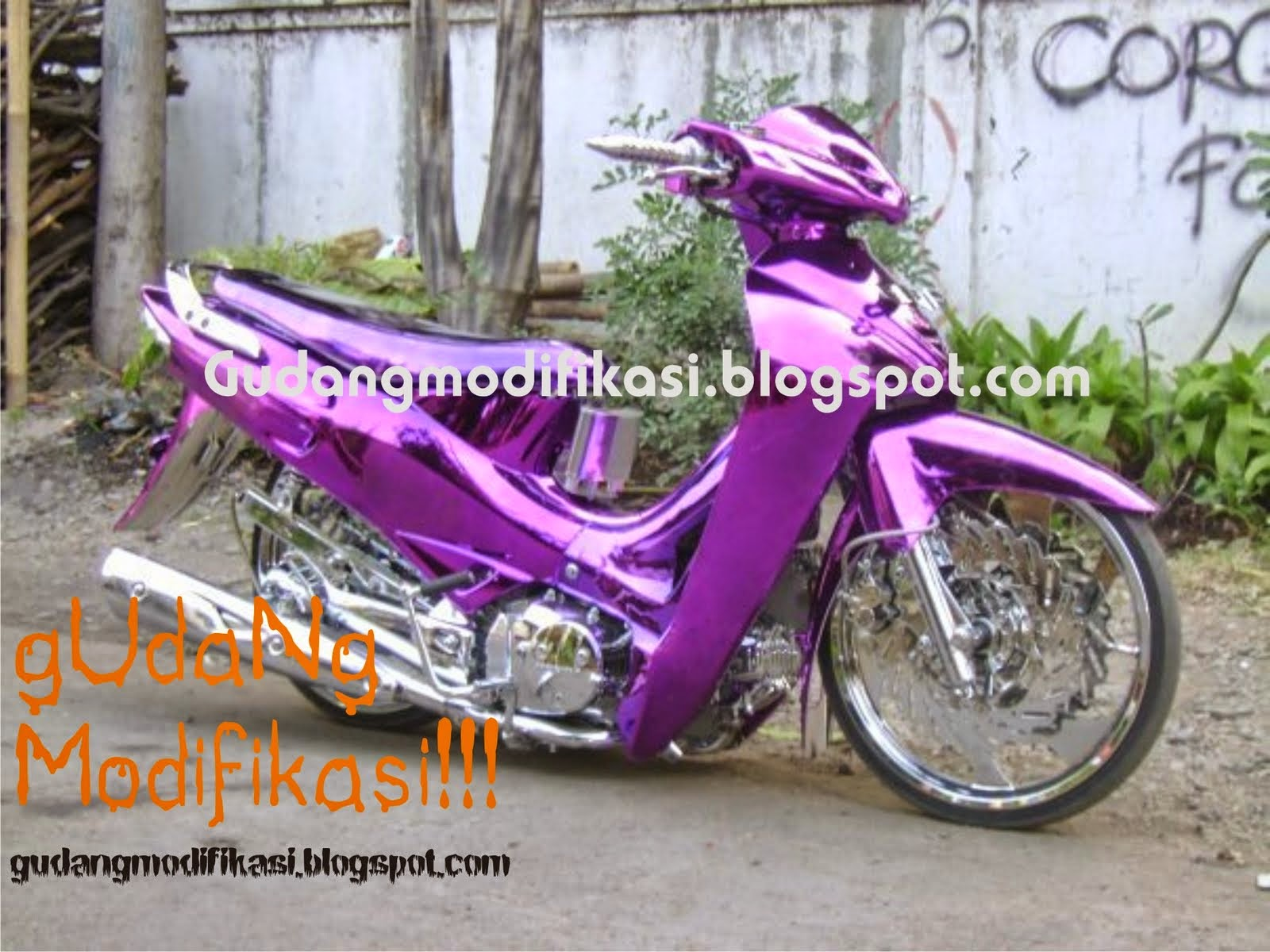 Honda Karisma Modifikasi Road Race