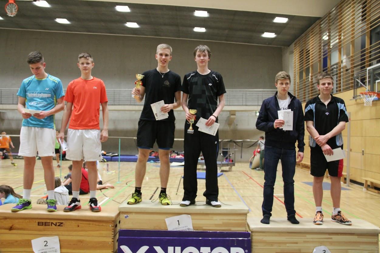 VICTOR Junior Cup 2014, Berlín, 19.4.2014