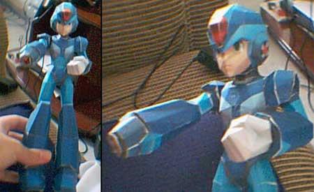 Mega Man X8 Papercraft