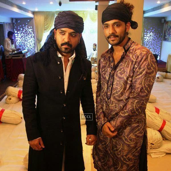 Toshi and Sharib Sabri at their Iftaar party and Sufi Mehfil. (Pic: Viral Bhayani)
