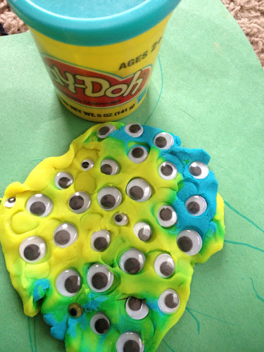 Monster play doh