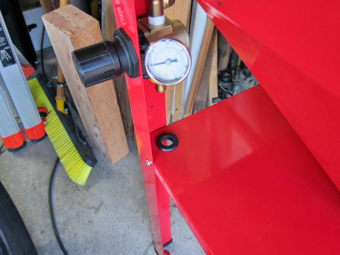 How to turn a cheapo HF Blast Cabinet into a pretty good tool ...
