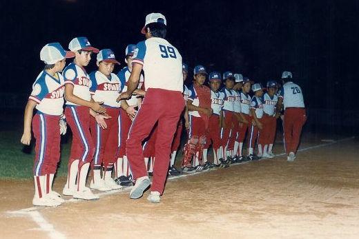 Liga Pitic de Hermosillo, Sonora en el campeonato nacional de ligas pequeñas categoría menor de 1986