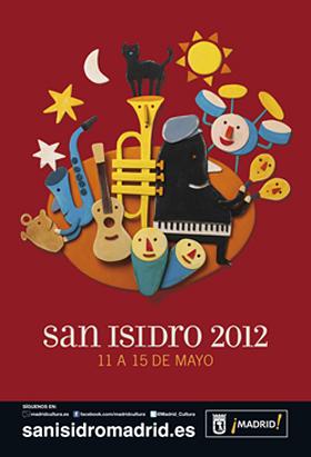 Programa completo Fiestas de San Isidro 2012