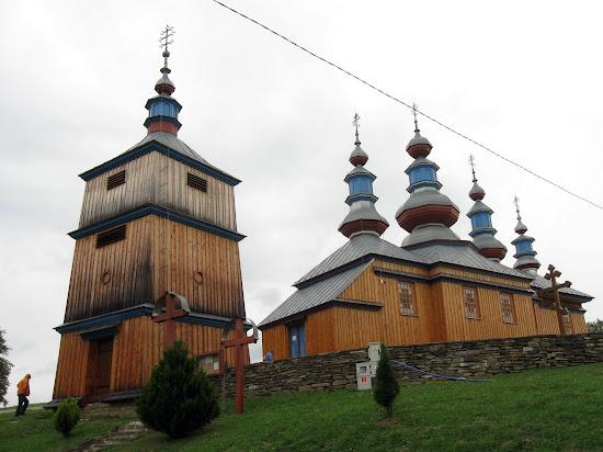 cerkiew opieki Matki Boskiej w Komańczy