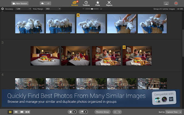 Quickly Discover the Best Photos with Snapselect