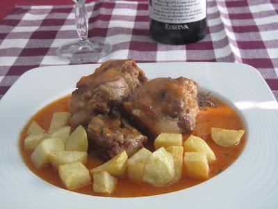 Receta rabo de toro para las recetas de marichu y las mias - Cocinar rabo de ternera ...