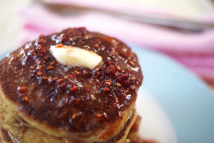 gluten free mascarpone pancakes makes 24 silver dollar pancakes ...