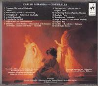 CARLOS MIRANDA - CINDERELLA CD back cover