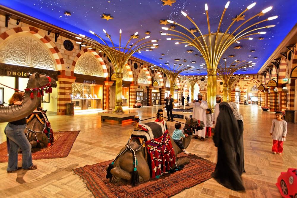 Торговые центры в Дубае, купить тур в Эмираты,