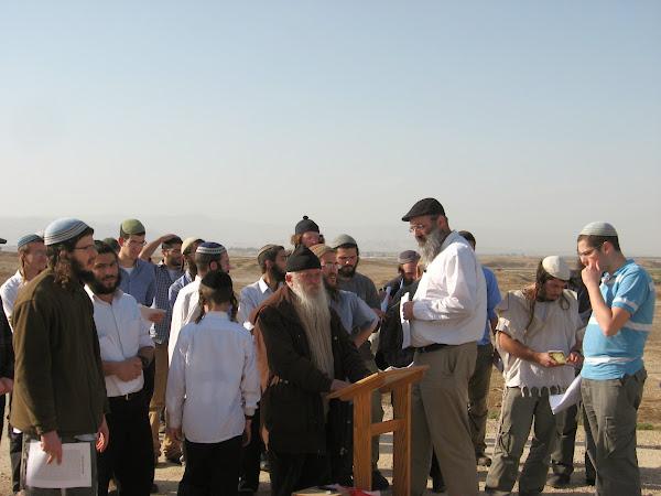 תפילה מול הר נבו עם הרב שועה בן-שושן