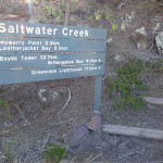 Signpost south of Saltwater Creek Beach (106096)