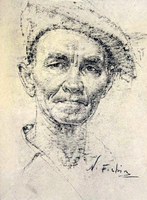 Фешин Николай Иванович портреты