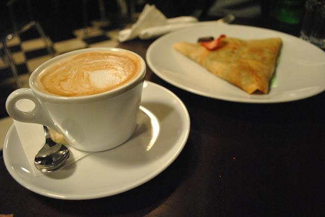 Cafe Crepe Vancouver Menu