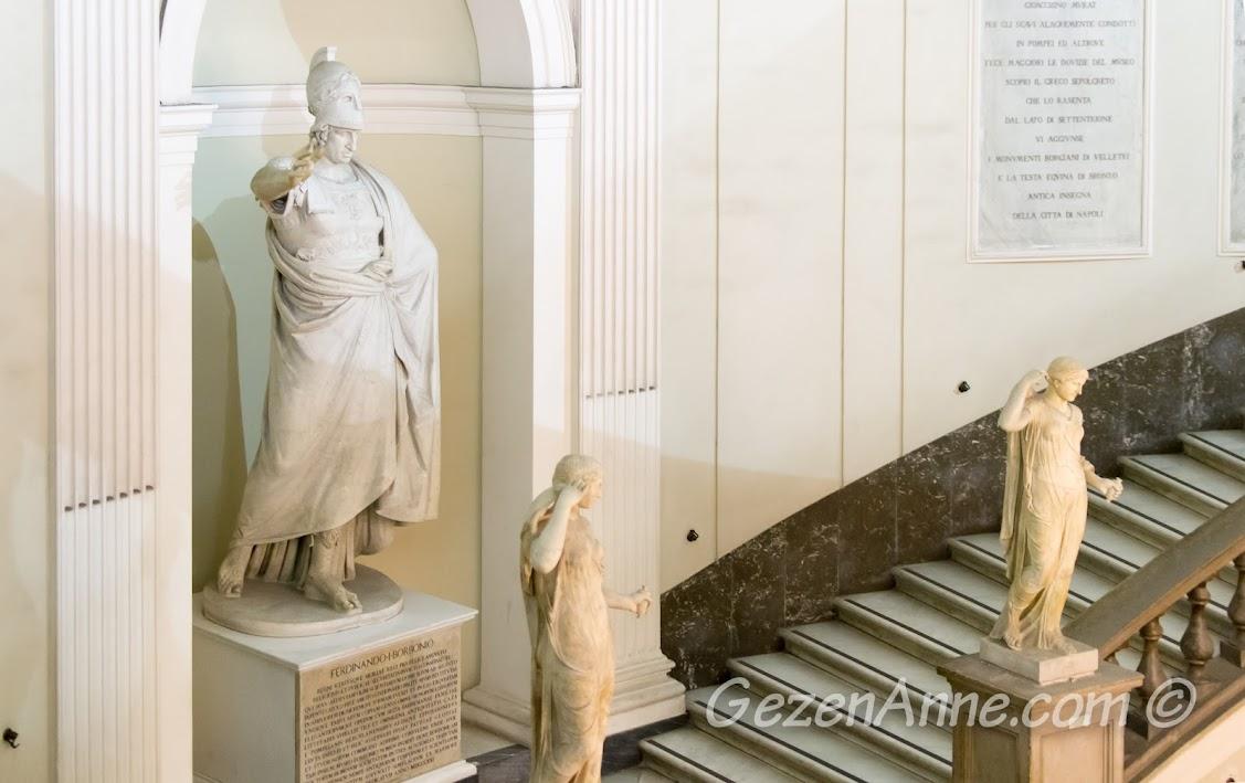Napoli'deki Arkeoloji Müzesi içinde