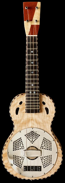 Mya Moe Acoustic Resonator Ukulele