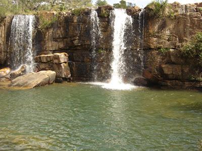 Cachoeira do Arrojado em Cristalina