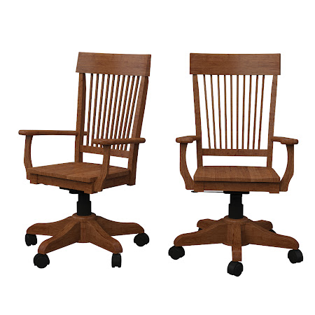 Harvest Office Chair in Como Maple