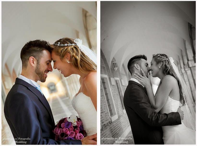 Fotografía de boda en la comunidad de Madrid, concretamente en Aranjuez.
