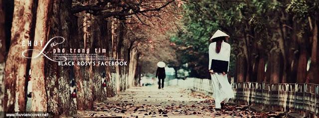 Cover chút phố trong tim, ảnh bìa buồn đi một mình trên phố