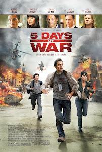 Cuộc Chiến 5 Ngày Đêm - 5 Days Of War poster