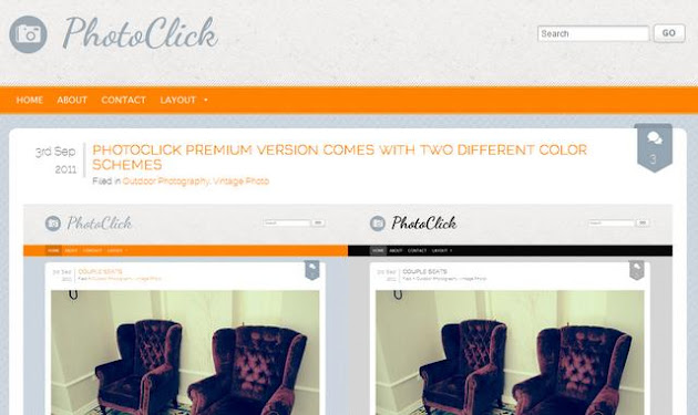 Photo Click WordPress Theme