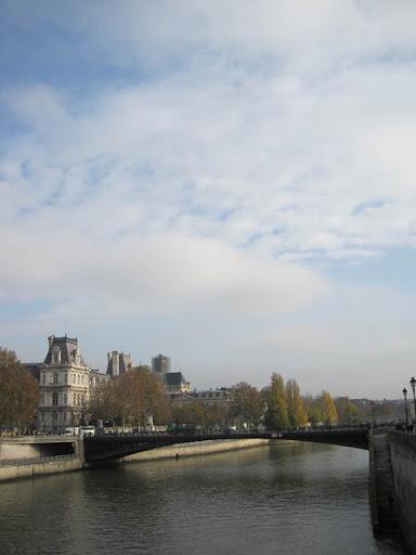シテ島の橋@パリ