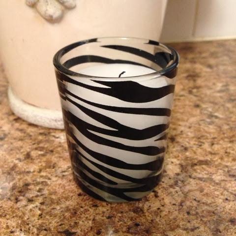 walmart zebra votive candle