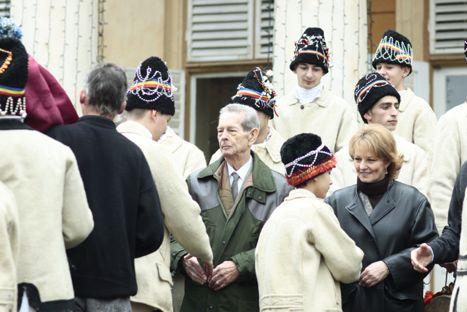 Familia Regală a României sărbătoreşte la Săvârşin