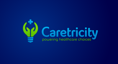 Caretricity : Healtcare services logo design