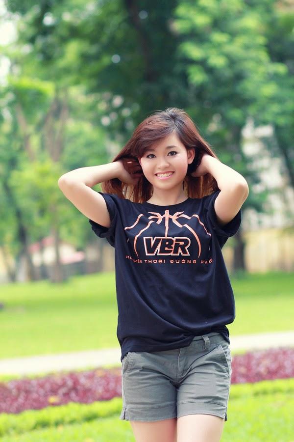 Thí sinh Miss Bóng Rổ khoe sắc tại công viên 5