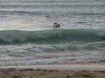 then a wave