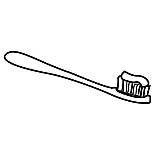 Pinto Dibujos: Cepillo de dientes para colorear