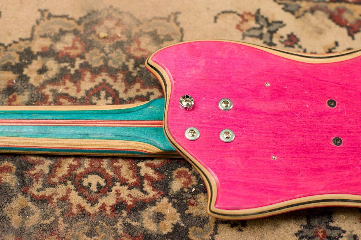 *Skate Guitar 回收再生:電音滑板吉他! 5