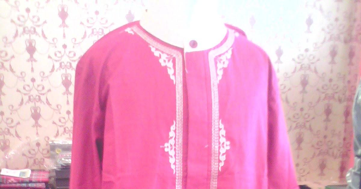 Hariera Busana Muslim Baju Koko Stelan Anak