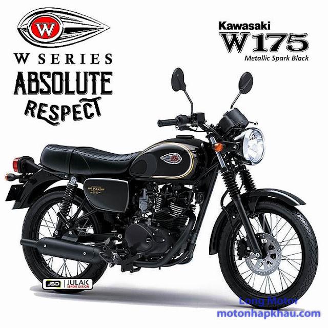 Kawasaki W175 SE DEN