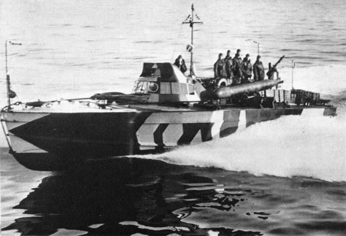 Motoscafo Armato Silurante or Torpedo Armed Motorboat