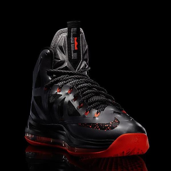 "Release Reminder: Nike LeBron X ""Lava"" Diamond | NIKE ..."