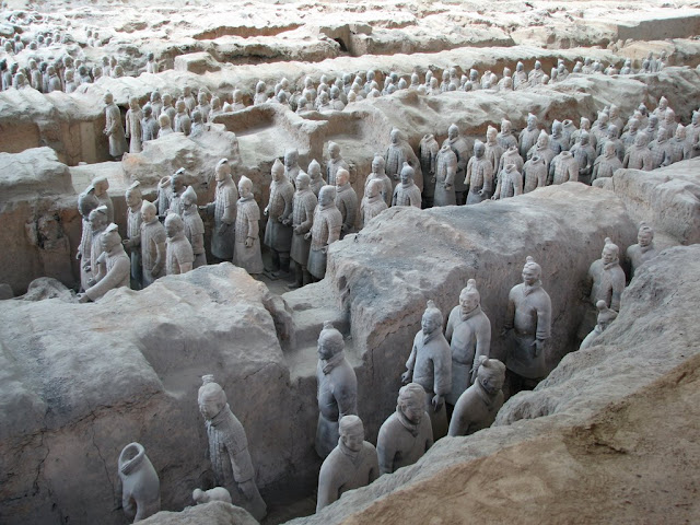 Terracotta Warriors from Qin Shi Huang's Tomb