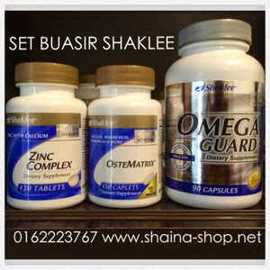 Set Buasir Shaklee ZOOM Shaina Shop