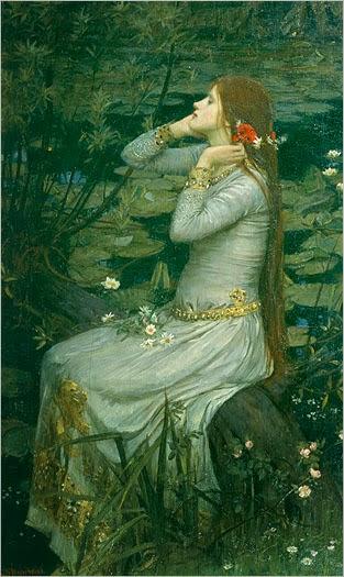 Ophelia por Arthur Hughes