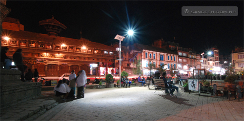 Mangal Baazar - Night photography