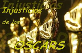 Injusticias de los Oscars