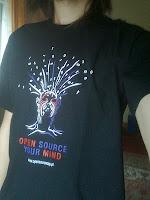 Open Source Day 2011 koszulka