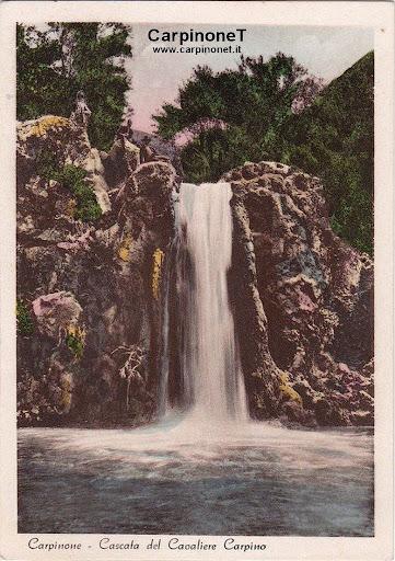 Cascata sul Fiume Carpino