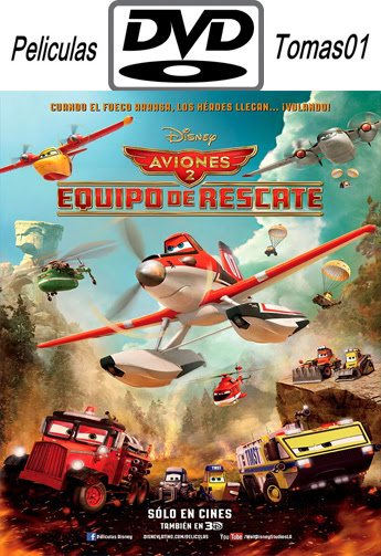 Aviones 2 Equipo de rescate (2014) DVDRip