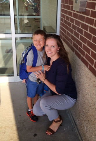 #backtoschool #kindergarten #momandson