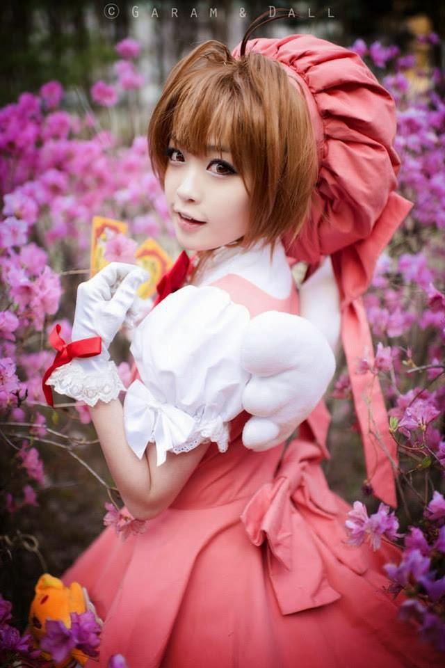 Tomia cực dễ thương với cosplay Sakura - Ảnh 6