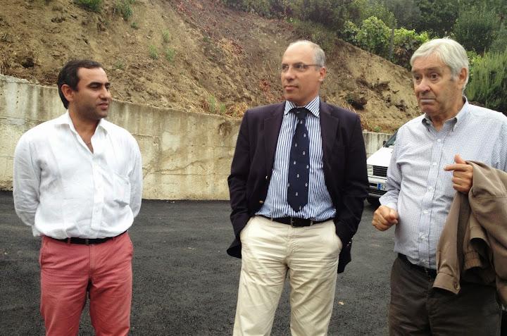 Obras no Caminho da Foz melhoram circulação em Ferreiros