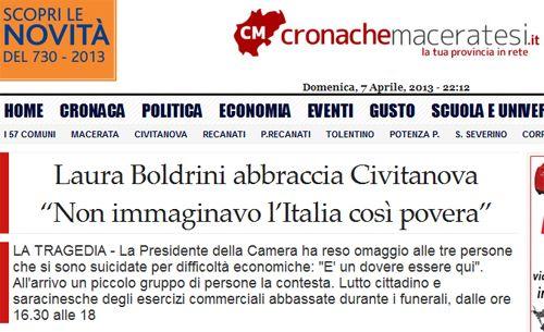 Laura Boldrini: